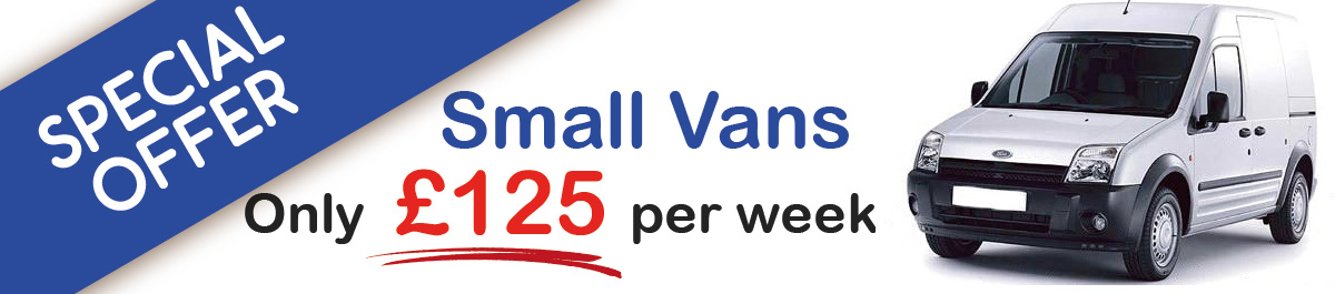 Small vans for hire in York, Wakefield, Sunderland and Middlesbrough