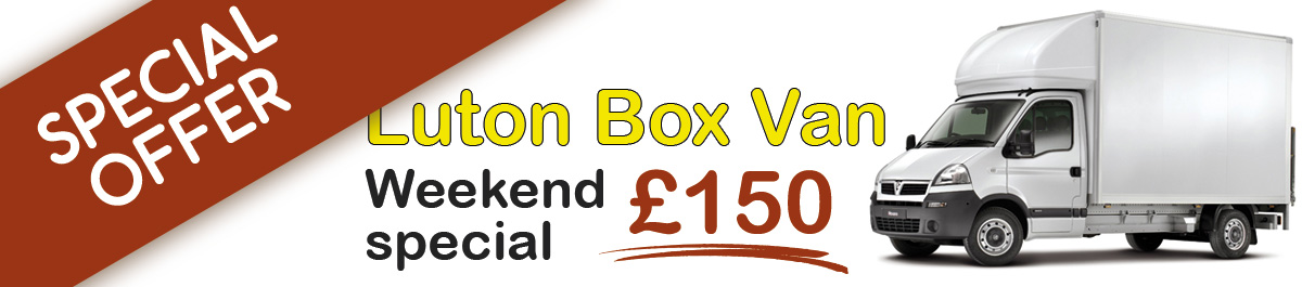 Luton Box Vans for hire in York, Wakefield, Sunderland, Middlesbrough and Leeds